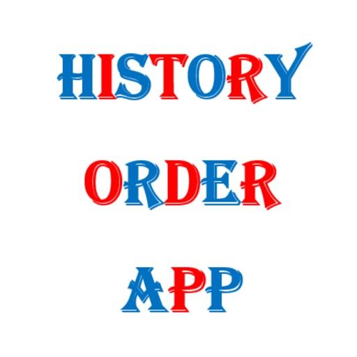 The HistoryOrder App