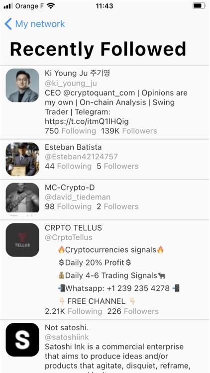 Stats + for Twitter - Unfollow screenshot-4