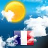 Weerbericht voor Frankrijk