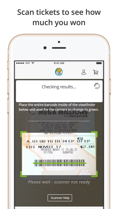 Michigan Lottery Mobile by Michigan Lottery (iOS, United