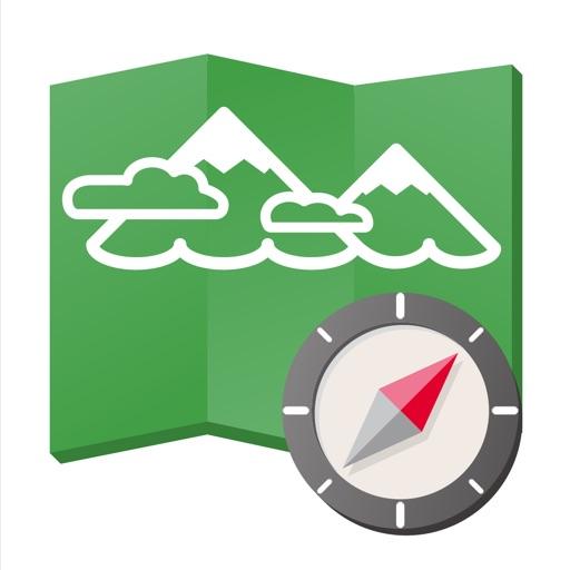 ヤマレコMAP - 登山・ハイキング用GPS地図アプリ