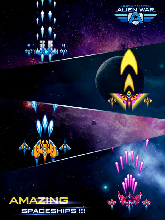 Alien War Spaceship Shooter screenshot 9