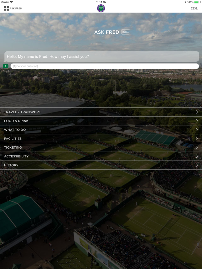 Wimbledon 2018 Screenshot
