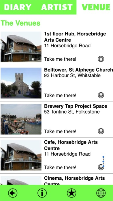 Image of Whitstable Biennale 2018 for iPhone