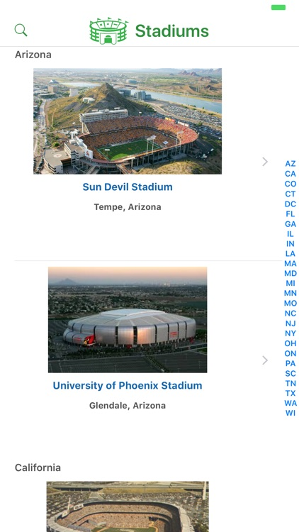 Stadiums of Pro Football