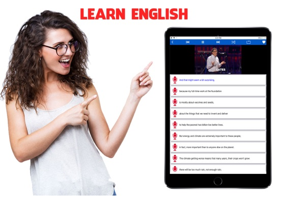 Learn English with TED Talks-ipad-0