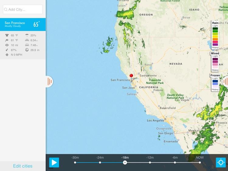 NOAA Radar & Hurricane inFocus