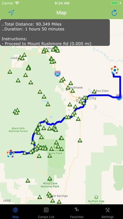 South Dakota – Camping & RV's
