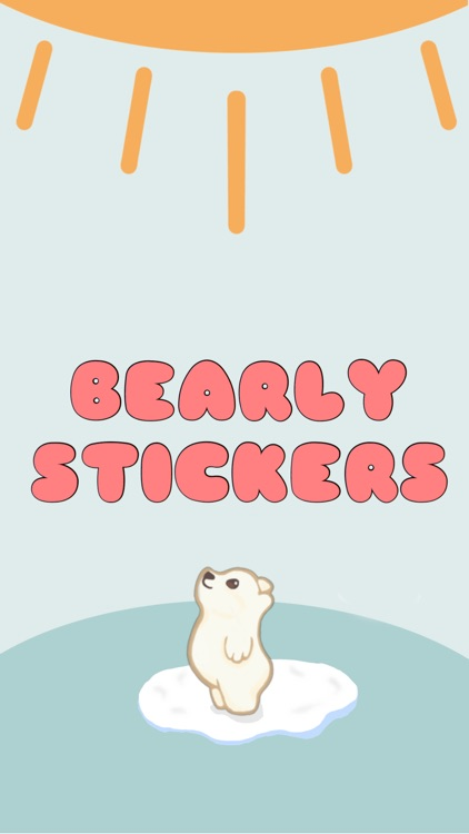 Bearly Stickers