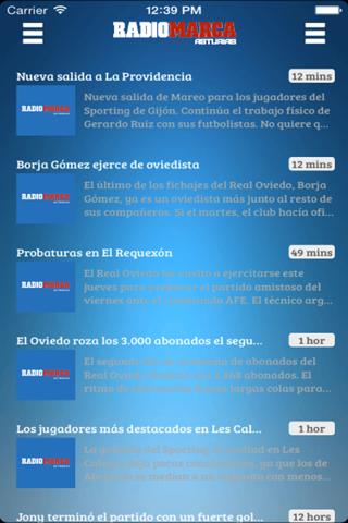 Radio Marca Asturias - náhled