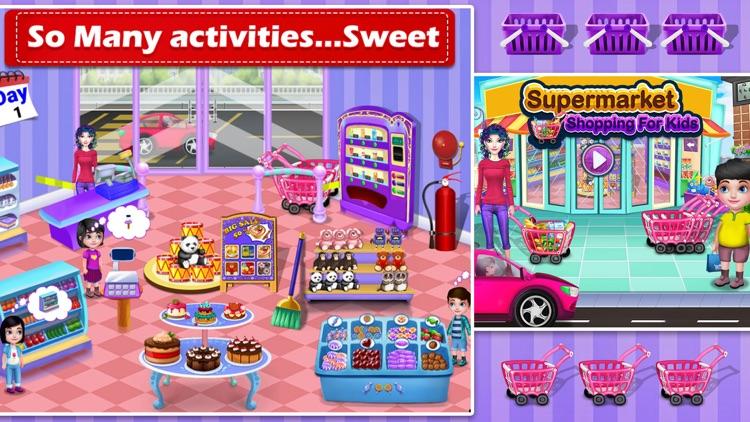 Supermarket Shopping Game screenshot-3