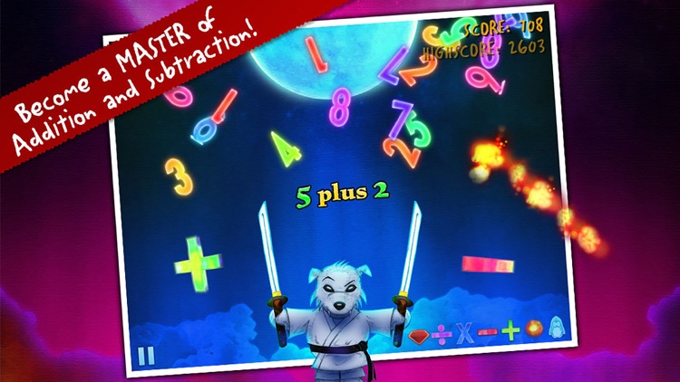 Ice Math Ninja - PREMIUM screenshot-2