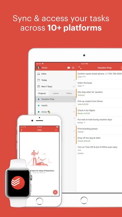 Todoist: Organize your life screenshot-4
