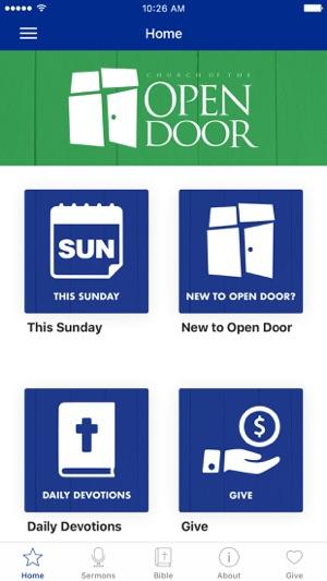Church Of The Open Door App On The App Store