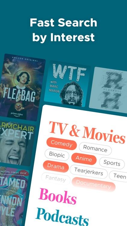 Likewise: Movie, TV, Book Recs screenshot-3