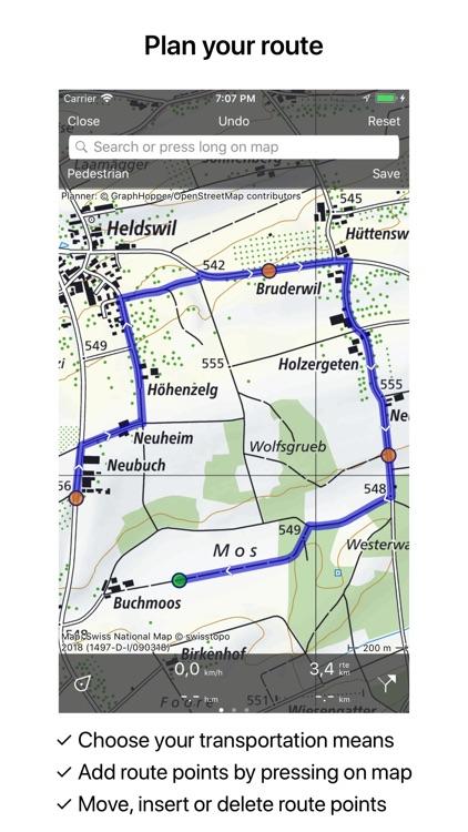 Topo GPS Switzerland screenshot-4