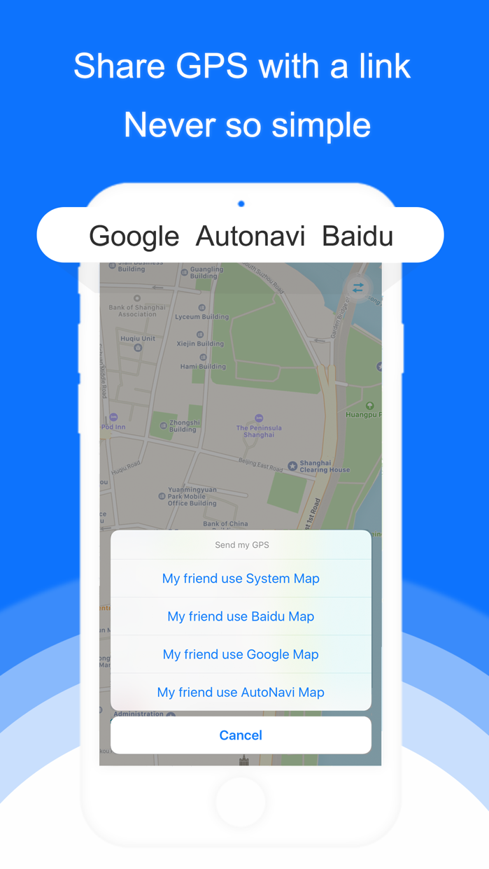 Find Me- share my GPS location Screenshot