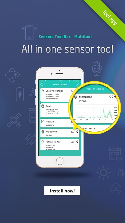 Sensors Toolbox - Multitool