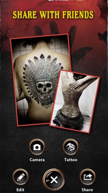 Tattoo Designer Body Art Maker screenshot-4