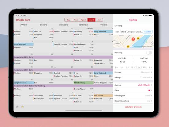 Calendar 366 iPad app afbeelding 5