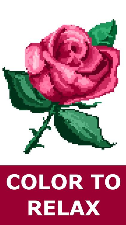 Color By Number :  Pixel Art screenshot-3