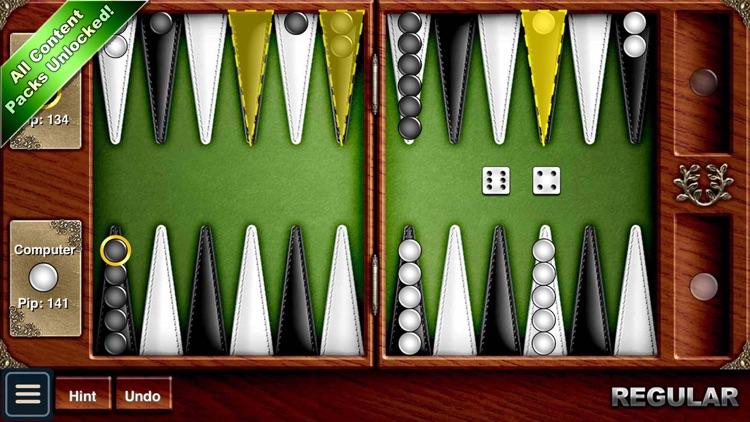 Backgammon HD screenshot-0
