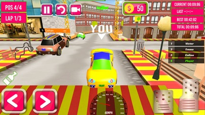 Kids Rally Cars 3D screenshot one