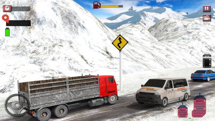 Silk Road Cargo Truck Driver