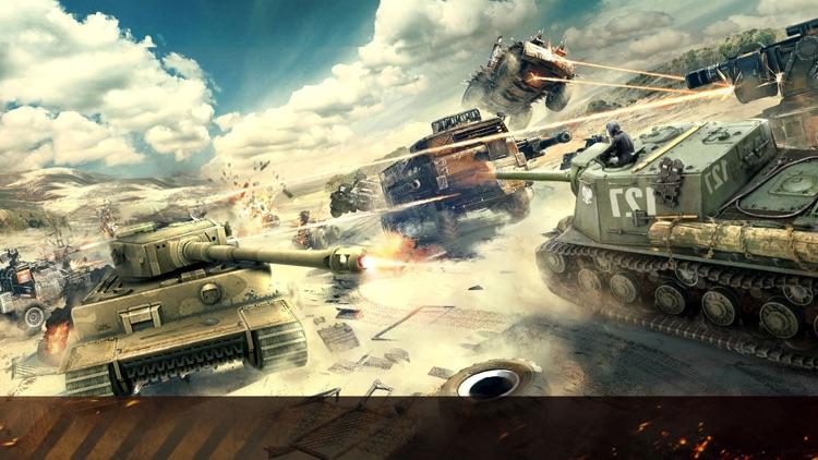 Tanks Fury : 3D World War Game