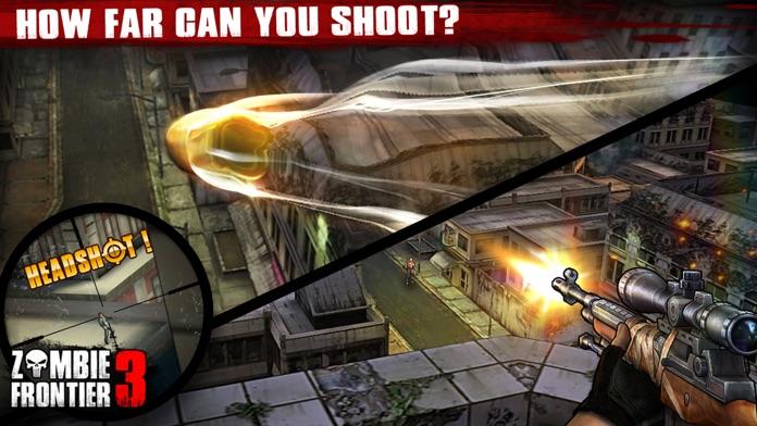 Zombie Frontier 3: Sniper FPS Screenshot