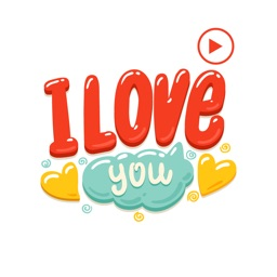 Animated Love Stickers!
