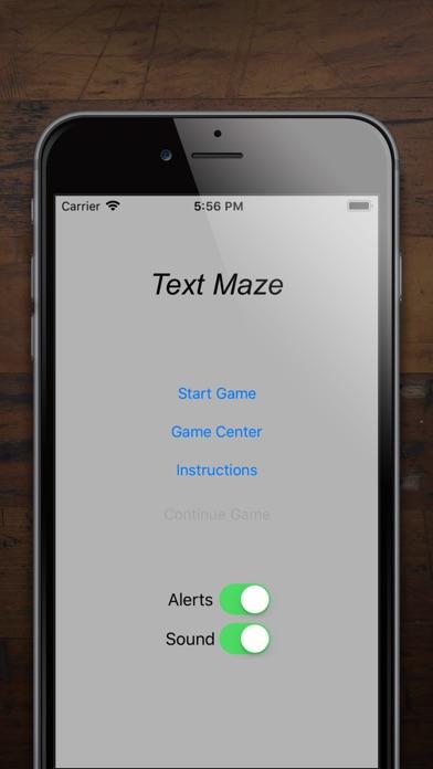 Text Maze Screenshots