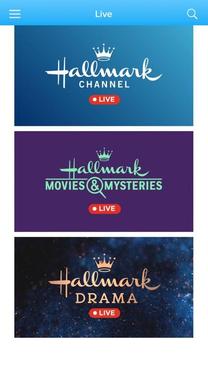 Hallmark TV screenshot-7