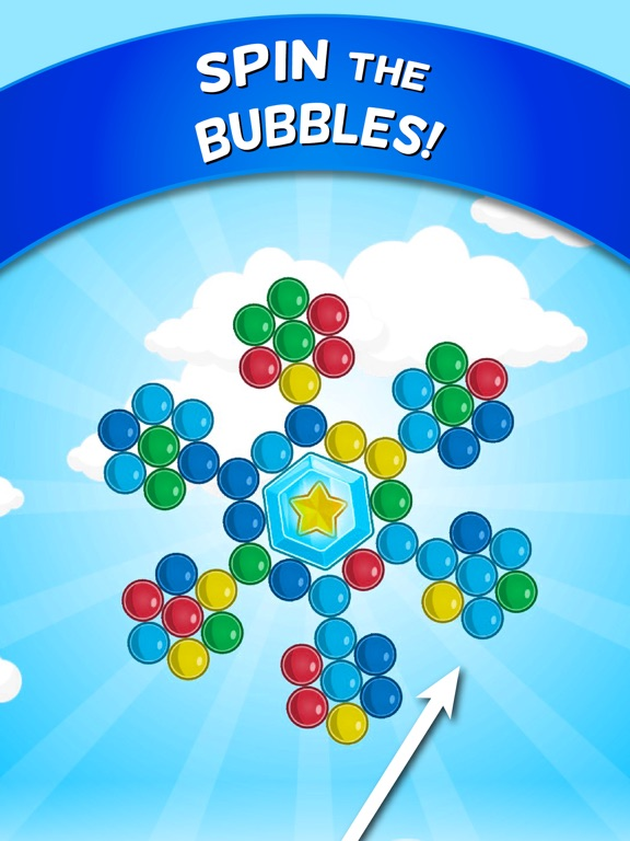 Bubble Cloud: Spinning Bubbles Скриншоты8