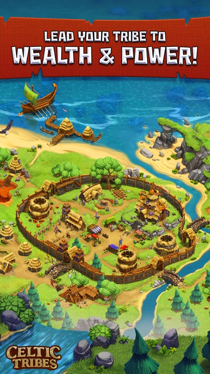 Celtic Tribes - Strategy MMO screenshot-3
