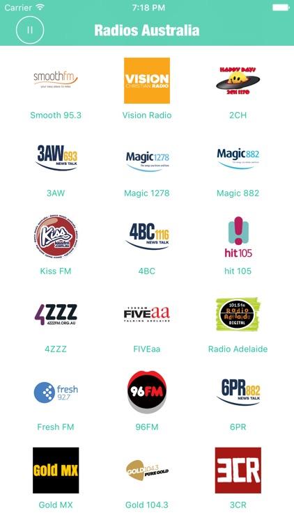 Australia Radios Radio Aussie screenshot-3