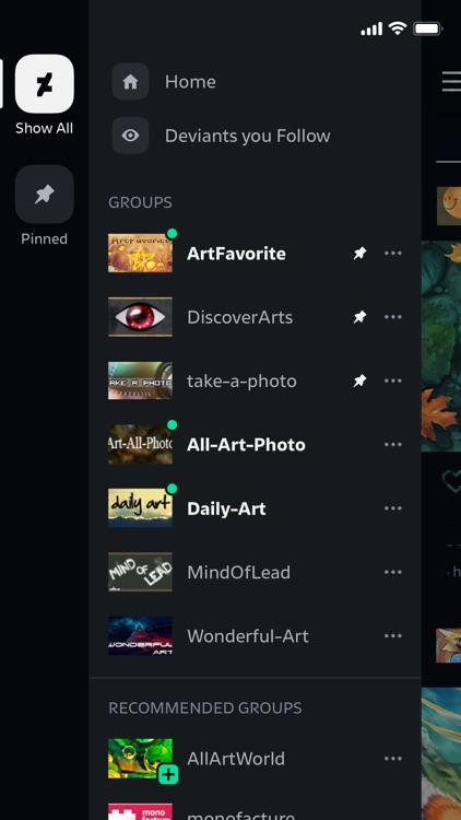 DeviantArt screenshot-4