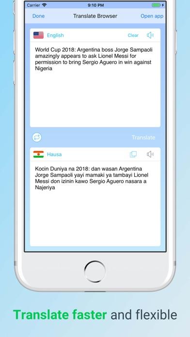 Translate Browser Pro 2018 Screenshots