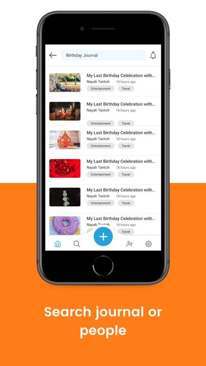 Lugelo - Journal Stories screenshot-8