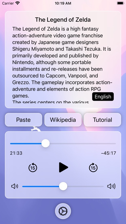 iPlayText: Listen to Any Text