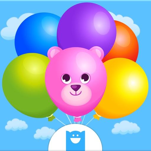 Pop Balloon Kids - веселая игра с нажатиями