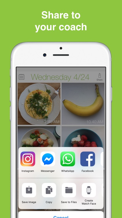 See How You Eat Food Diary App screenshot-5