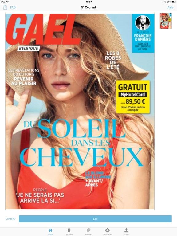 Image of Gael Magazine for iPad