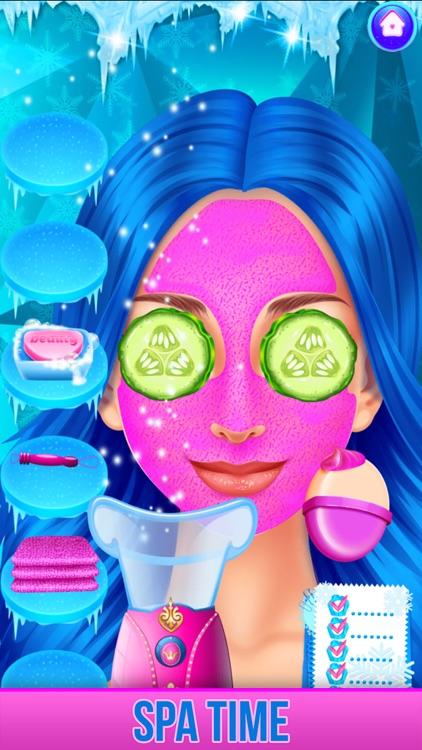 Ice Princess Face Paint Salon screenshot-4