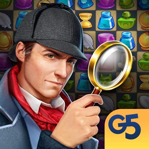 Sherlock・Hidden Object・Match 3