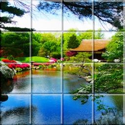 Tile Puzzle Japanese Gardens