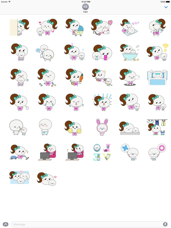 Mother And Her Child Sticker screenshot 4