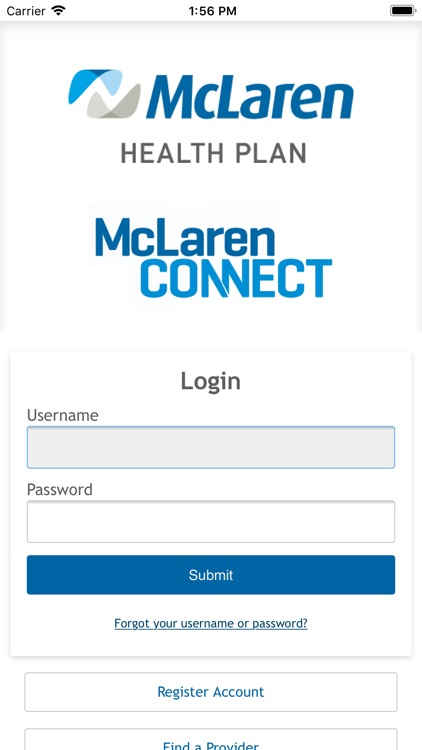 McLaren CONNECT Screenshot 0