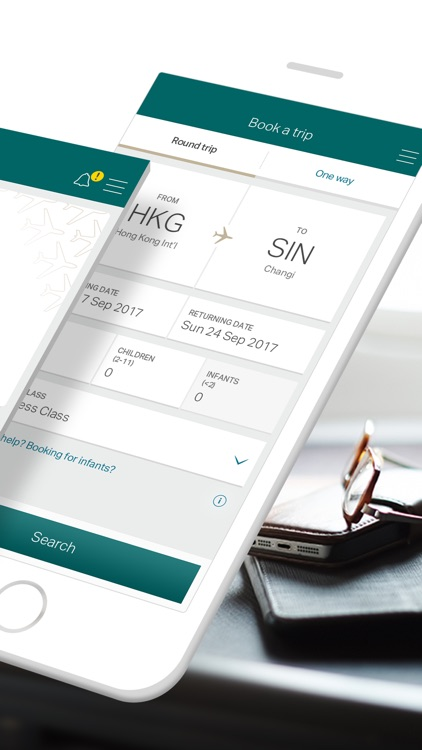 Cathay Pacific screenshot-1