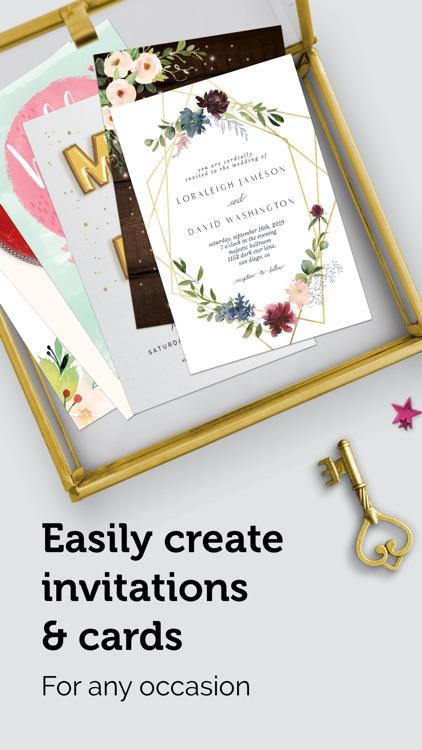 Invitation Card Maker Studio screenshot-0